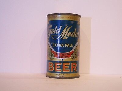Gold Medal Extra Pale Beer O/I Flat Top Beer Can ( Tough )