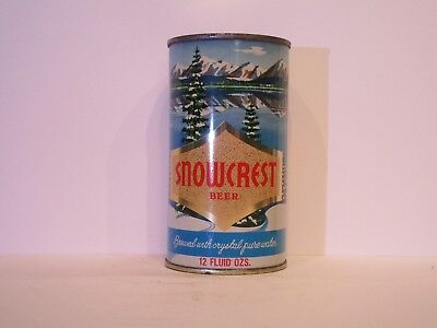 Snowcrest Flat Top Beer Can ( STUNNING )
