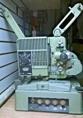 Siemens 2000 16mm Projector with sound unit and protection/transportation case.