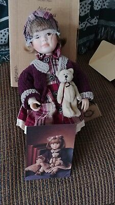 """Yesterday's Child"" Doll Collection ""'Kellie"" Boyd's Collection Porcelain Doll"