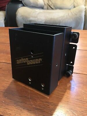 Dual Anton Bauer WRB-200 Wireless Receiver Box For Lectrosonics With ARWM Mount