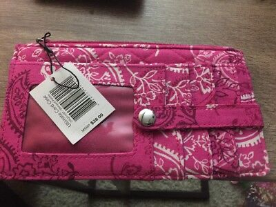 Vera Bradley Ultimate Card Case - Stamped Paisley- NWT