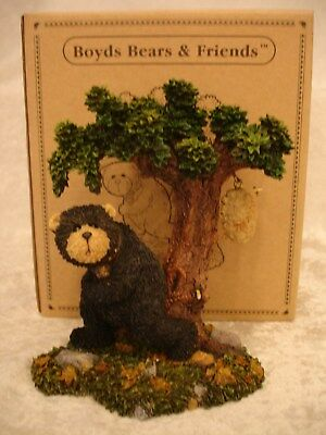 "Boyds Beats Black Bear ""fast Merle""  Bear With Bee Hive  #229758 1E/2681 Nib"