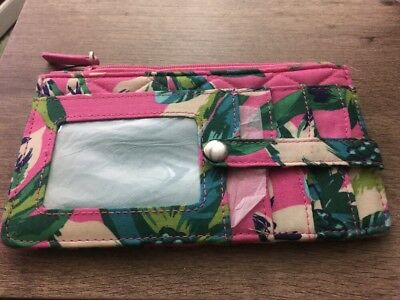 Vera Bradley Ultimate Card Case - Tropical Paradise - NWT