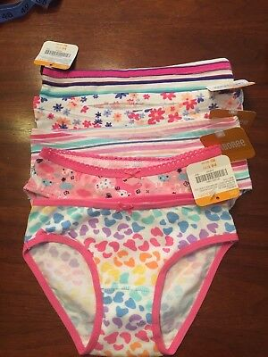 Gymboree NWT Girls Panties, Set of 5 | Size XXS (2T)