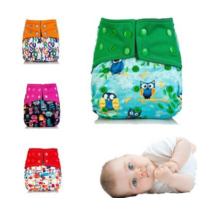 Reusable Washable Washable Cloth Baby Diaper Pocket Nappy Cover Wrap