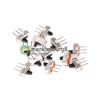 20PCS 3Pin SS12D00G3 2 Position SPDT 1P2T PCB Panel Mini Vertical Slide Switch
