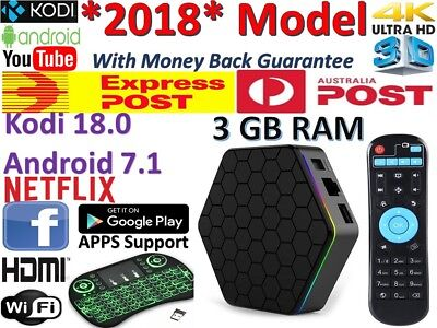 *2019* T95Z Plus Kodi 18.0 Android TV BOX S912 WIFI 3GB + 32GB IPTV Media Player