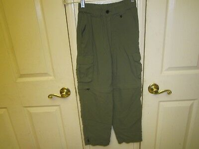 BSA Boy Scouts of America Uniform Switchback Pants 100% Nylon EUC YOUTH SMALL