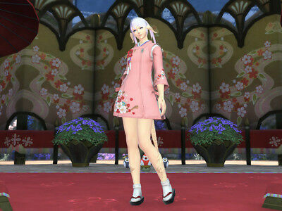 FINAL FANTASY XIV FFXIV FF14 Seasonal (Women's) Lady's Suikan Set