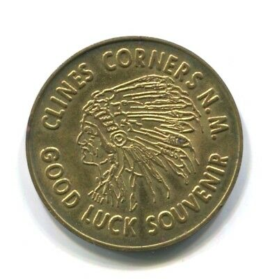 Clines Corners New Mexico GOOD LUCK SOUVENIR COINS/TOKENS Land of Enchantment
