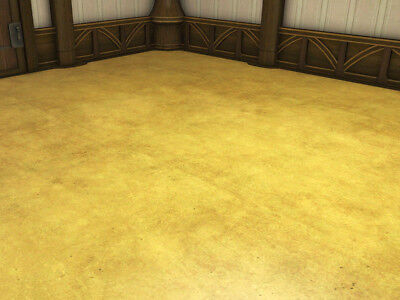 FINAL FANTASY XIV FFXIV FF14 Housing Three Units of Gold Leaf Flooring