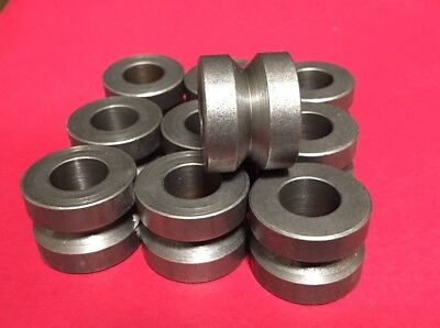 """.50"""" ID X 1.00""""OD X .75"""" HIGH V GROOVE DRILL BUSHING or SPACERS"""