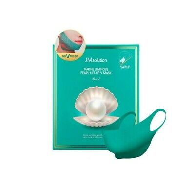 [ JMsolution ] Marine Luminous Pearl Deep Moisture Mask 27ml x 5ea + Free Gifts