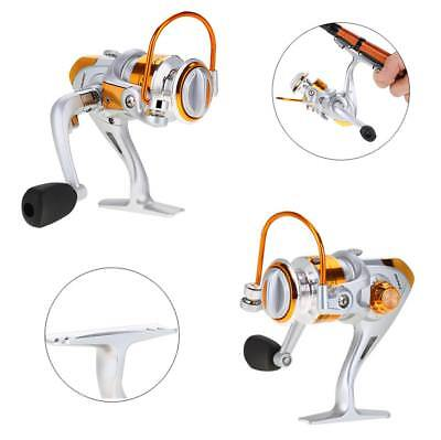 12BB Ball Bearing Saltwater Freshwater Fishing Spinning Reel 5.5:1 Safety SD