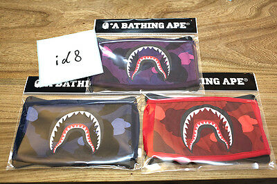100% authentic A Bathing Ape Bape ABC Camo Shark Face Mask (US)