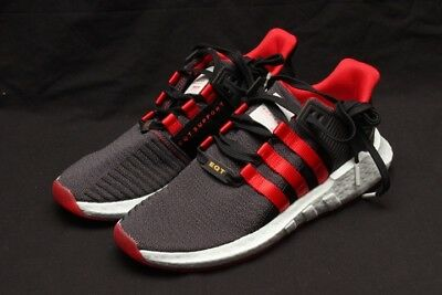 size 40 abace eb3f7 Adidas Eqt Support 9317 Yuanxiao - Carbon-Black-Red Db2571