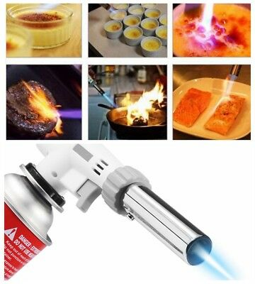 Cooking Profesional Culinary Torch Butane Creme Food Cook BBQ Home Kitchen Hot