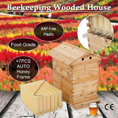 10-Frame Hive Frame/Bee Hive Frame W/ Auto Flow Honey Hives