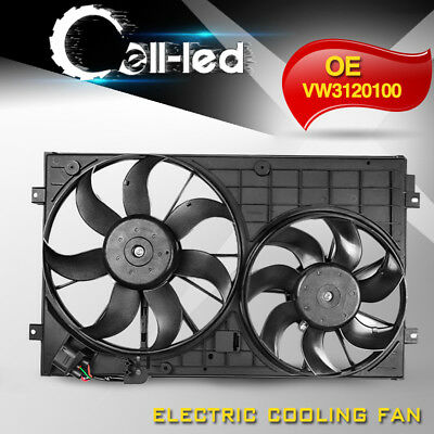 Engine Radiator Cooling Fan Assembly for Volkswagen Jetta Passat Golf  VW3120100