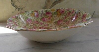 Royal Winton Grimwades SUMMERTIME Chintz Salad / Serving Bowl A/F