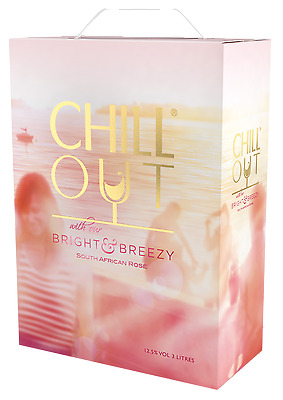 Chill Out Bright & Breezy Rosé 3 Liter, Südafrika,Bag in Box, 13%