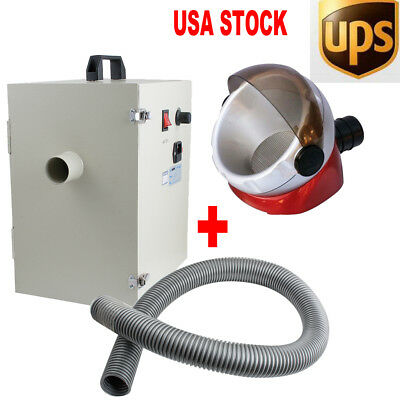 Dental Dust Collector Vacuum Cleaner for Sandblasters Polishing Lab +Free Gift