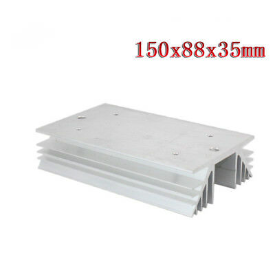 1PCS Aluminum Heat Sink for Solid State Relay SSR Heat Dissipation Three 3 Phase