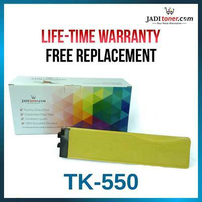 KYOCERA TK-550Y (YIELD: 6,000 Pages) Yellow Toner Cartridge