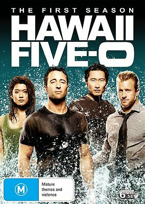 Hawaii Five 0 The First Season 1 DVD Region 4 NEW