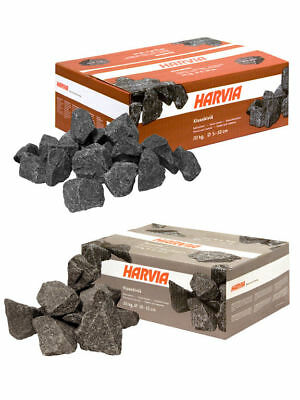 Sauna Stones Harvia 20 kg, 5-10 or 10-15 cm for electric and woodburning stoves