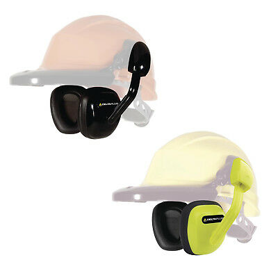 Delta Plus SUZUKA Clip On Ear Defenders for Safety Helmets (Yellow or Black)