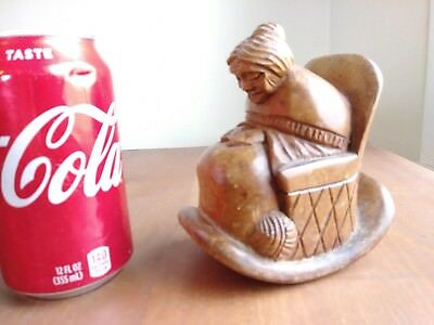 J.pinal Wood Carving,mexican. Grandmother, Grand Mom