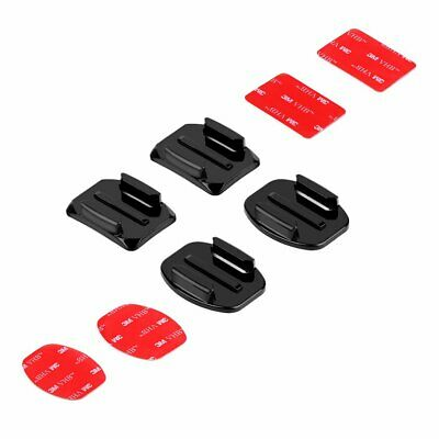 Flat Curved 3M Adhesive Sticker Base Mount Pads for GoPro 7 6 5 4 3+ 3 Xiaoyi