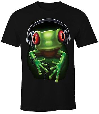 The Mountain Victory Frog Frosch T Shirt Top Peace Friede S 3XL #3218 522