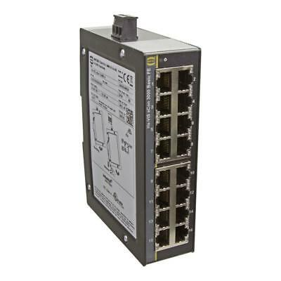 Fast Ethernet Switch, unmanaged, 16-Ports - HARTING Ha-VIS eCon 3160B-A