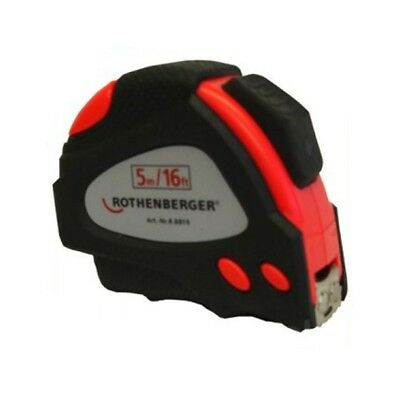 Rothenberger 5m Steel Tape Measure Plumbing Accessory