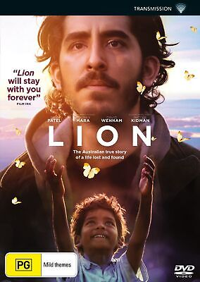 Lion DVD Region 4 NEW