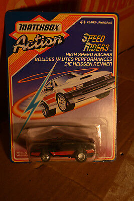 5 Autos Autos Matchbox Action Bahn Speed Riders Boomaround Bumerang Neu 1986 inkl
