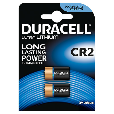 Duracell Ultra Lithium CR2 Batterie Photo CR17355 3V 2er Blister