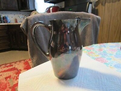 Vintage 1949 Silver-Plated Pitcher from Poole Silver Company ~#530