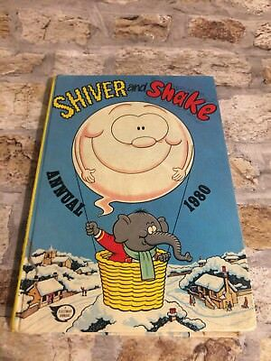 Shiver and Shake Annual 1980 Vintage Annual Collectable Hardback TBLO