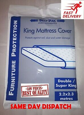 Mattress cover polythene bags double/king size for removal, storage,Decorating