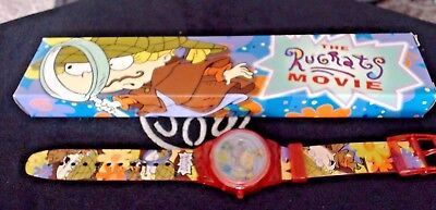 """RUGRATS """"The Movie""""  Angelica floating flowers - LCD Watch - NIB"""