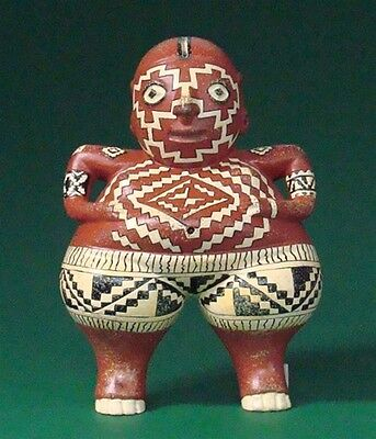 Pre-Columbian Chupicuaro Mayan Fertility Statue Sculpture Replica Reproduction
