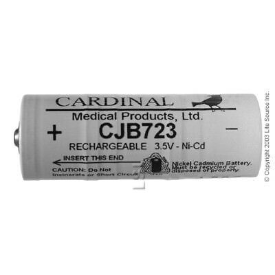 CJB-723 3.5V Rechargeable Battery, Welch Allyn 72300 Equivalent