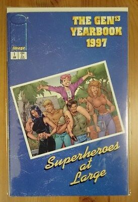 "GEN13 Yearbook 1997 ""Superheroes at large"""