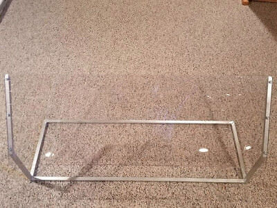 Two Sneeze Guards 4'x2' each | One Sided Sneeze Guard | Freestanding Food Guard