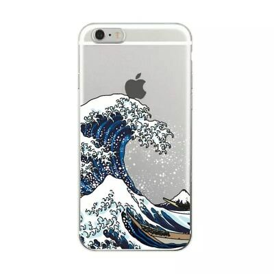 Ocean Spray The Great Wave of Kanagawa Art Sea Surf Phone Case For iPhone