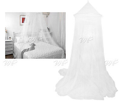 White Mosquito Net Bed Canopy Mosquito Net Bed Single Midge Insect Fly Netting